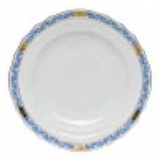 HEREND SALAD PLATE BLUE