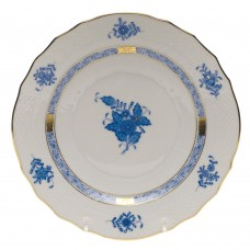 "Chinese Bouquet Blue Salad Plate 7.5""D"