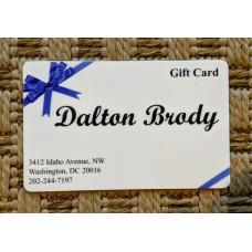$20.00 DALTON BRODY GIFT CARD