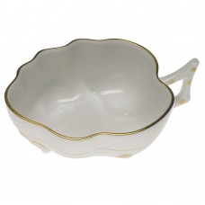 Golden Edge Deep Leaf Dish 1.5""