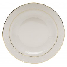 "Golden Edge Dessert Plate 8.25""D"