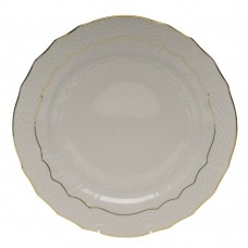 "Golden Edge Service Plate 11""D"