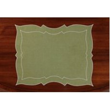 Parentesi Rectangular Placemat - Green