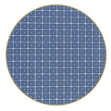 "Holly's Key 15"" Round Placemats"
