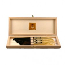 CLAUDE DOZORME CHEESE SET - WHITE
