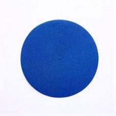BASKETWEAVE PLACEMATS- Royal Blue