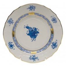 "Chinese Bouquet Blue Bread & Butter Plate 6""D"