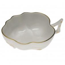 "Golden Edge Deep Leaf Dish 1.5"""