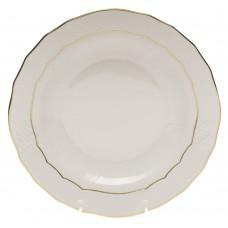 """Golden Edge Dessert Plate 8.25""""D"""